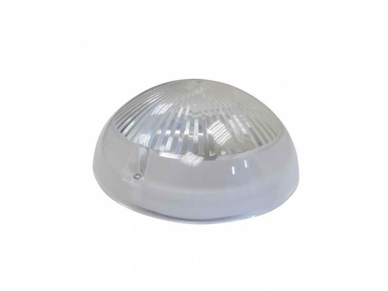 Светильник ДБП 06-12-011 УХЛ1, с фото-шумовым выключателем Сириус прозрачный