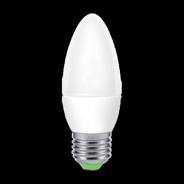 Лампа светодиодная LED-СВЕЧА-standard 5Вт 230В Е27 4000К 450Лм ASD