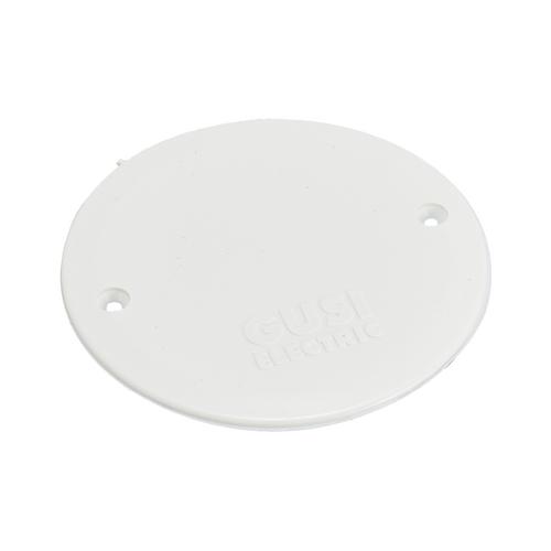 Установочные изделия GUSI ELECTRIC СЗА4 Крышка подрозетника, белая