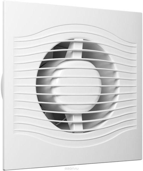 Вентилятор вытяжной на шарикоподшипниках Slim 4 c тяговым выключателем
