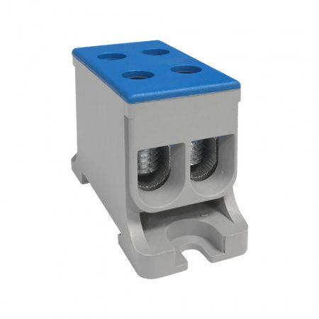 Клемма силовая вводная двойная КСВ 16-50 синяя  ETP