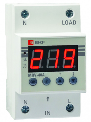 Реле напряжения с дисплеем MRV 63A EKF PROxima