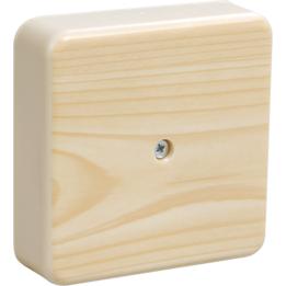 Коробка распаячная КМ41212-04 о/п Сосна