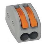 Строительно-монтажная клемма СМК 222-412 (многоразовая)