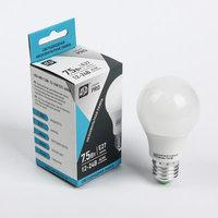 Светодиодная лампа LED-MO-12/24V-PRO 7,5Вт 12-24В Е27 4000К 600Лм низковольтная светодиод. лампа ASD