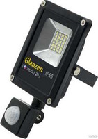 Светодиодный прожектор с датчиком движения Glanzen fad-0011-20 20 вт