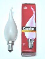 Лампа накаливания ''Свеча на ветру''