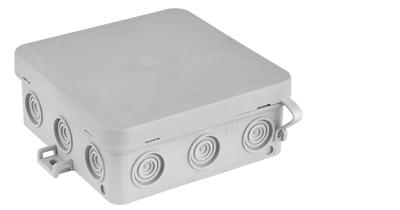 Коробка монтажная КМ-294 115х112х42.8 мм