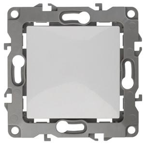 12-1108-01 ЭРА Переключатель промежуточный (перекрестный), 10АХ-250В, IP20, Эра12, белый