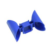 Кабель-канал СЗА3  соединительный, синий