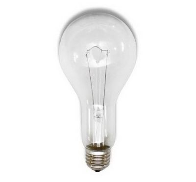 Лампа накаливания 200W  (Т 230-200) А65 E27, термоизлучатель