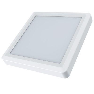 Светодиодная панель/Светодиодный светильник 18вт квадратный накладной 4000К