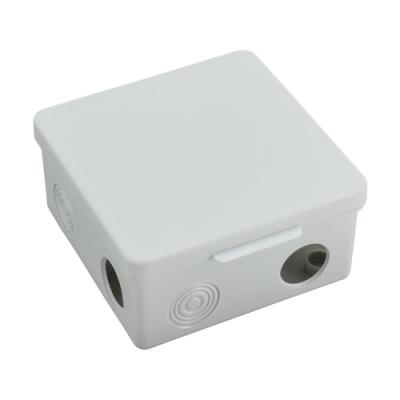 Коробка распределительная КР 100х100х50 мм, 8 вх.(гермовводы), IP54