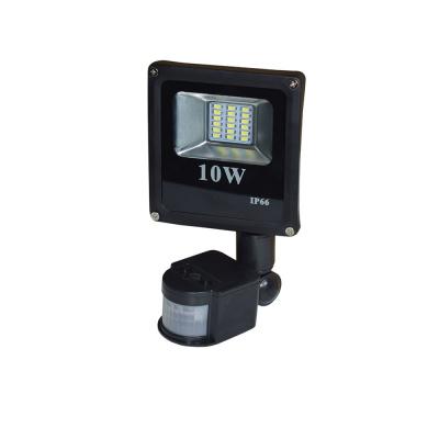 Прожектор светодиодный 10 W 6000К с датчиком движения IP65