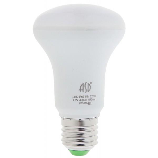 Лампа светодиодная  R63 рефлектор 8Вт 230В 4000К E27