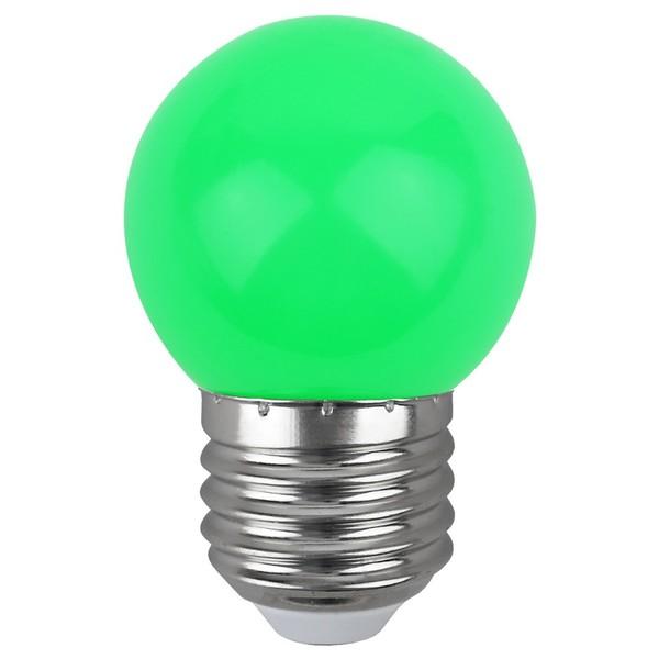 ЭРА LED 4SMD Р45-1W-E27  ERAGL45 (диод. шар, зеленый) СТАНДАРТ Б0049574
