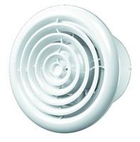FLOW 5 BB, Вентилятор осевой канальный вытяжной с круглой решеткой с двигателем на ш/подшип D 125 ERA
