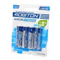 Элемент питания ROBITON LR6-4BL(Alkaline)