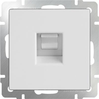 WERKEL WL01-RJ-11 / Телефонная розеткаRJ-11 (белая)