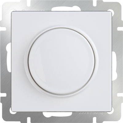 WERKEL WL01-DM600 / Диммер (белый)