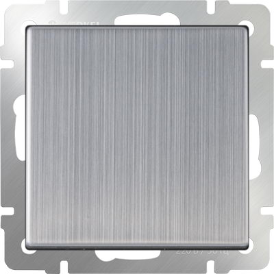 WERKEL WL02-SW-1G / Выключатель одноклавишный (глянцевый никель)