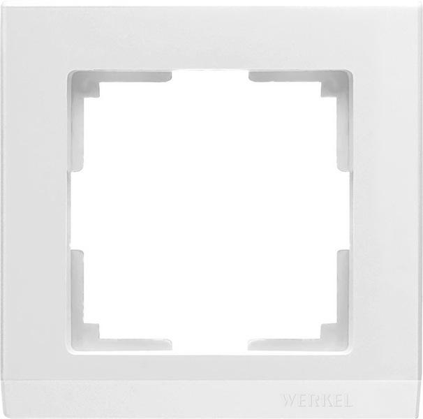 WL04-Frame-01-white/Рамка на 1 пост (белый)
