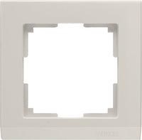 WL04-Frame-01-ivory/Рамка на 1 пост (слоновая кость)