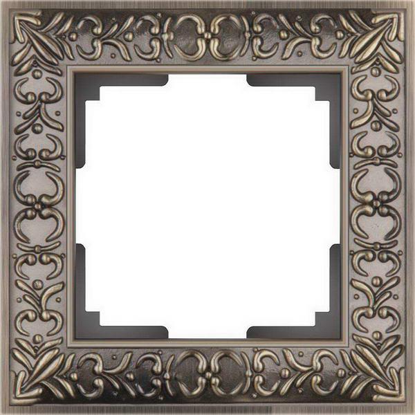 WL07-Frame-01/Рамка на 1 пост (бронза)