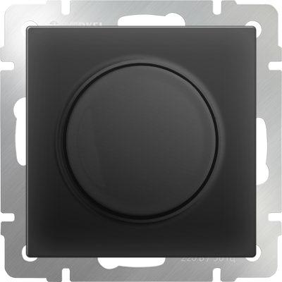 WERKEL WL08-DM600/Диммер (черный матовый)