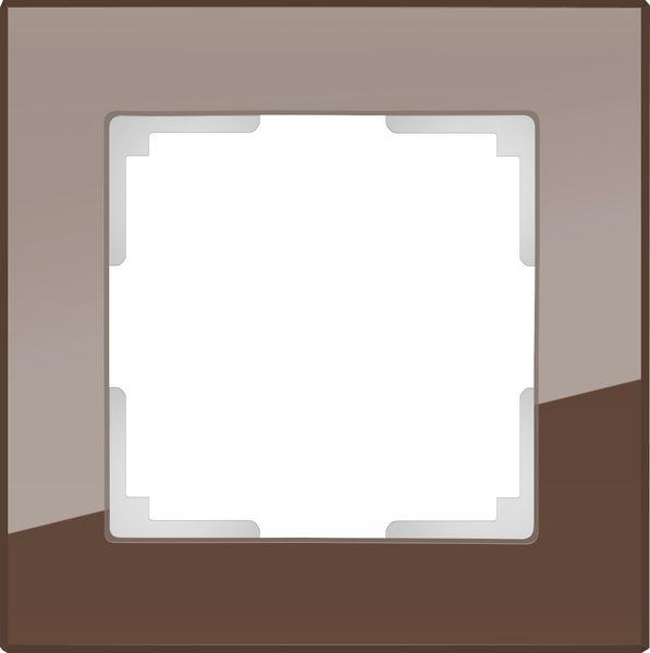 WL01-Frame-01/Рамка на 1 пост (мокко)