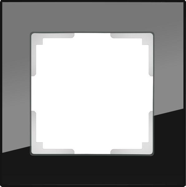WL01-Frame-01/Рамка на 1 пост (черный)