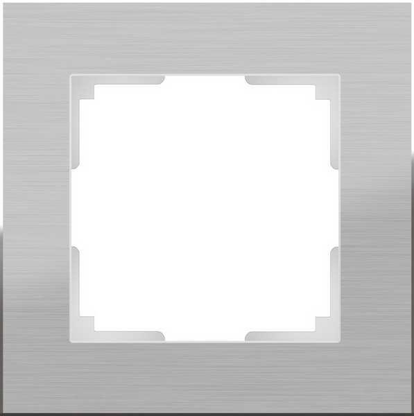 WL11-Frame-01/Рамка на 1 пост (алюминий)
