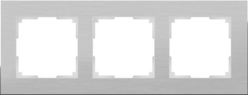 WL11-Frame-03/Рамка на 3 поста (алюминий)