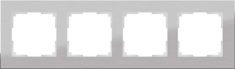 WL11-Frame-04/Рамка на 4 поста (алюминий)