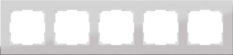 WL11-Frame-05/Рамка на 5 постов (алюминий)