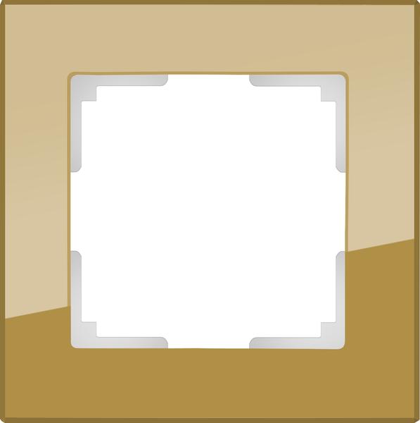 WL01-Frame-01/Рамка на 1 пост (бронзовый)