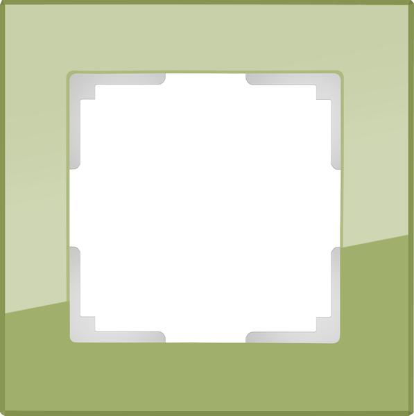 WL01-Frame-01/Рамка на 1 пост (фисташковый)