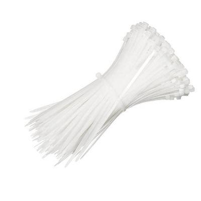 Хомут нейлоновый 3х150 белый  (100шт)