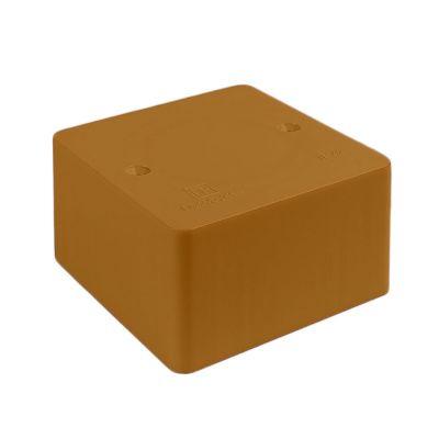 Коробка универсальная для к/к 40-0460 безгалогенная (HF) бук 85х85х45  Промрукав
