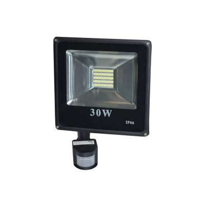Прожектор светодиодный 30 W 6000К с датчиком движения IP65