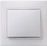 Выключатель 1-клавишный проходной  ВСп10-1-0-КБ 10А КВАРТА белый IEK
