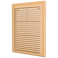 Вентиляционная решетка 15х15 бежевая