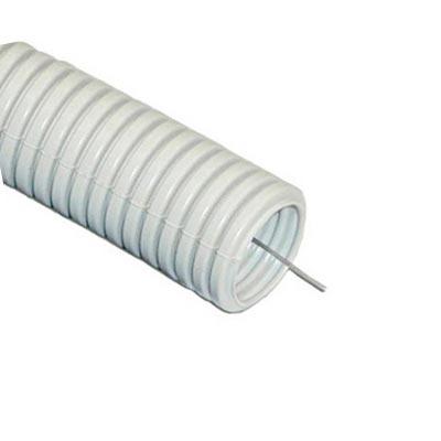 Труба гофр.ПВХ d 16 с зондом