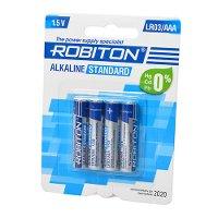 Элемент питания ROBITON LR03(Alkaline)