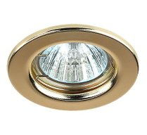 ST1 GD Светильник  штампованный MR16,золото