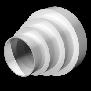 Соединитель круглых воздуховодов центральный