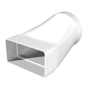 Соединитель прямоуголного воздуховода 60х204 с круглым d125