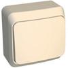1-клавишный выключатель крем
