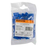 Соединительный изолирующий зажим СИЗ-2 4,5 мм2 синий (50 шт)  TDM 10/300 SQ0519-0007