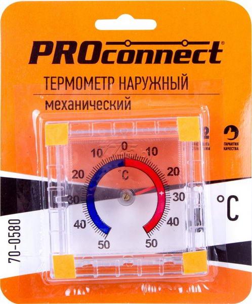 Термометр наружный  механический 70-0580